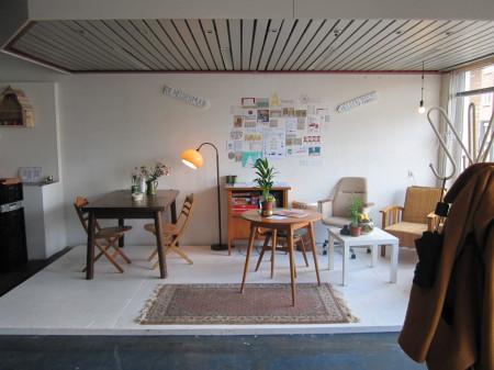 (Febuari 2013 – heden) Het PakhuisTrans 26, Arnhem Het Pakhuis is een plaats waar enthousiaste mensen talenten, ideeën en materialen kunnen delen en samenwerken aan een duurzame, mooie en gezellige wereld.